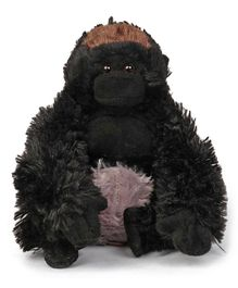 Wild Republic Mini Gorilla Black - Height 18.5 cm