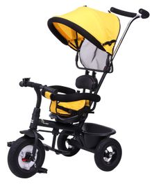R for Rabbit Tiny Toes Sportz Tricycle - Yellow Black