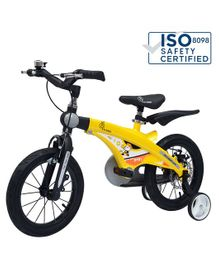 R For Rabbit Tiny Toes Jazz Bicycle  Yellow - 16 inches