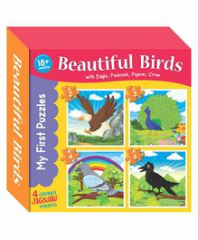 Art Factory Birds Puzzle Book - English
