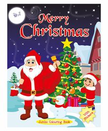 Art Factory Merry Christmas Jumbo Coloring Book - English