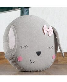 My Gift Booth Puppy Shaped Cushion - Grey