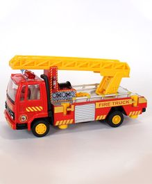 Centy Fire Ladder Truck - Red & Yellow