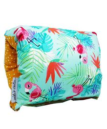BOBTAIL by Misha's Creation Nursing Arm Pillow Jungle Print - Blue