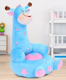Babyhug Giraffe Shaped Soft Seat - Light Blue