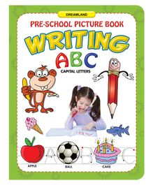 ABC Capital Letters Writing Book - English