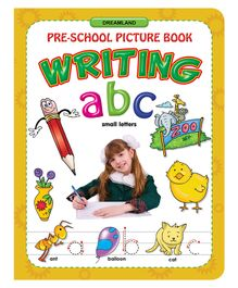 ABC Small Letters Writing Book - English