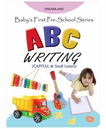 Baby's First Pre-School Series ABC Writing Book - English