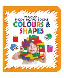 Kiddy Board Book Colours & Shapes - English