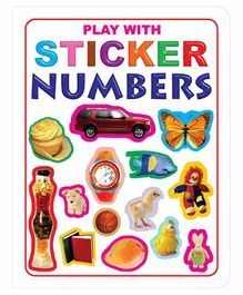 Play With Sticker Number Book - English