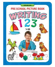 Picture Writing 123 Book - English