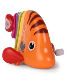 Dr. Toy Wind Up Fish - Orange