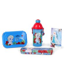 Disney Frozen School Kit Blue & Red - Pack of 4