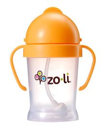 Zoli BOT Sipper Cup With Handles Orange - 175 ml