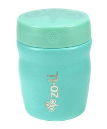 ZoLi Pow Dine Stainless Steel Insulated Food Jar Sea Green - 355 ml