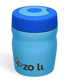 ZoLi Dine Stainless Steel Insulated Food Jar Blue - 355 ml
