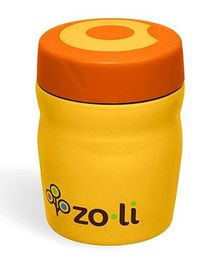 ZoLi Dine Stainless Steel Insulated Food Jar Orange - 355 ml