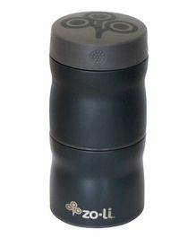ZoLi Pow This & That Stainless Steel Insulated Food Jar Grey