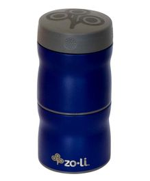 ZoLi Pow This & That Stainless Steel Insulated Food Jar- Navy