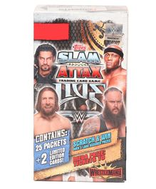 WWE Slam Attax Trading Card Game Smartpack - Multicolour