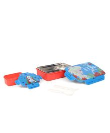 Disney Frozen Insulated Lunch Box With Stainless Steel - Blue & Red