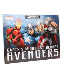 Marvel Earth's Mightiest Hero's Avengers Writing Pad - Blue