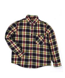 Indian Terrain Full Sleeves Checks Shirt - Navy Blue