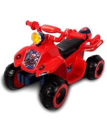 Marvel Spiderman ATV D8020 Ride On With Music - Red