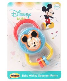 Winfun Baby Mickey Squeeze Rattle - Color May Vary
