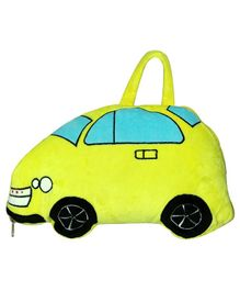 Soft Buddies Polyester Blanket Car Design - Yellow