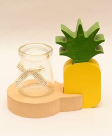 Tipy Tipy Tap Pineapple Jar Vase - Yellow