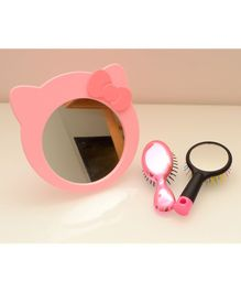 Tipy Tipy Tap Cat Shaped Mirror - Pink