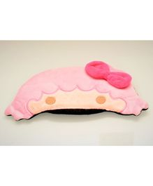 Tipy Tipy Tap Soft Sleeping Eye Mask Girl Design - Pink