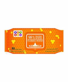 Bey Bee Water Wipes - 80 Pieces