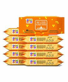 Bey Bee Water Wipes Pack of 10 - 80 Pieces Each