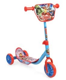Avengers Three Wheel Scooter - Blue & Red