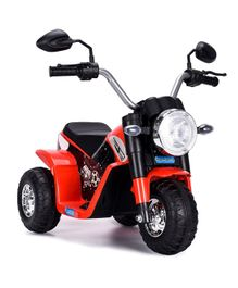 HappyKids Battery Operated Ride on Mini Bike - Red