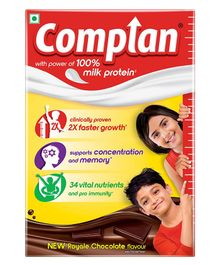 Complan Royal Chocolate Refill Pack - 500 gm