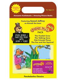 Junior Pack Four Books Plus One USB Card With Audio Video - English