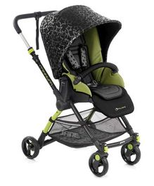 Jane Minnum Pushchair - Green & Black