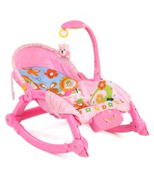Music & Light Baby Care Rocking Chair - Pink