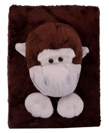Twisha Nx Monkey Shaped Photo Album Brown - 6 Pages Including Cover