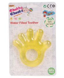 Sunny Hand Shaped Small Teether - Yellow