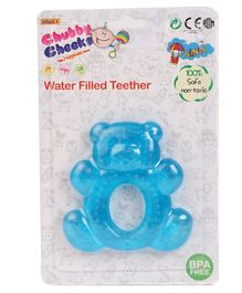 Sunny Teddy Bear Shaped Small Teether - Blue