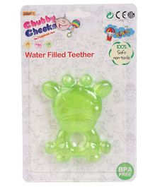 Sunny Toy Shaped Small Teether - Green