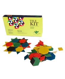 Vikalp Eco-Friendly Tesselation Kit Floor Puzzle Multicolour - 220 Pieces