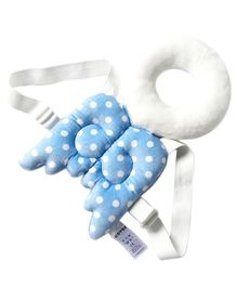 Babies Bloom Head Supporter Angel Pillow - Light Blue