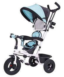 R for Rabbit Tiny Toes Striker Tricycle - Blue Black
