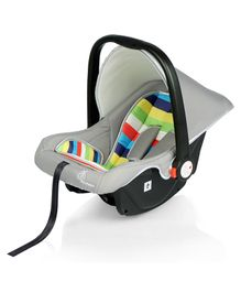 R for Rabbit Picaboo Infant Car Seat Cum Carry Cot Rainbow - Grey Multicolour