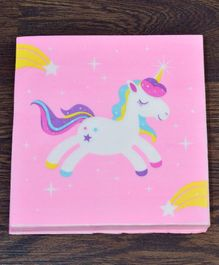 Quirky Monkey Tissue Paper Unicorn Theme Pink - 20 Pieces